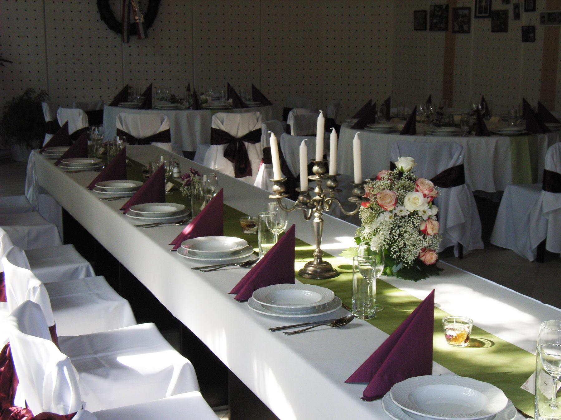 esküvő, rendezvény